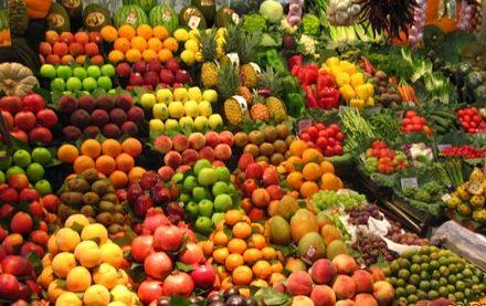قیمت انواع میوه و سبزیجات در بازار یزد +جدول
